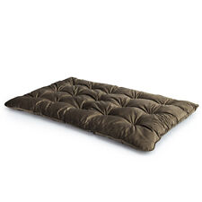 Mushroom DOUBLE Velvet Loft 25® Memory Foam Futon Mattress Bed Guest Spare Bed