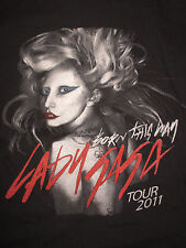"2011 LADY GAGA ""BORN THIS WAY"" Concert Tour (SM) T-Shirt"