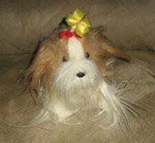 """Cute 8"""" Russ Plush Yorkie Puppy Dog """"Fluffy"""""""