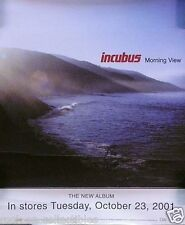 Incubus 2001 Morning View Original Promotional Window Decal Sticker
