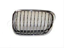 For 1999-2001 Bmw E46 323 325 328 330 Sedan Wgn Grille Chrome W/ Black Rubber Lh