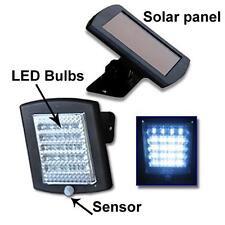 New 36 LED Solar Security Flood Light Outdoor Garden Motion Detect