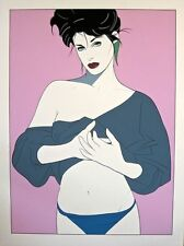 PATRICK NAGEL: CHARLOTTE, SMALL ESTATE EDITION -- MINT, BEST PRICES ON EBAY!
