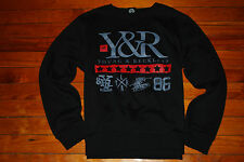NEW Men's Young and Reckless Y&R #86 Stamped Symbols Sweatshirt (XX-Large)