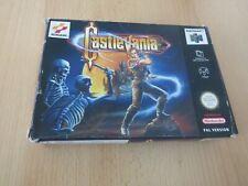 Castlevania Nintendo N64 boxed