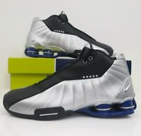 Nike Shox BB4 Vince Carter Metallic Silver Black Basketball Shoes Men's SZ