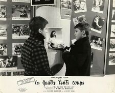 400 BLOWS, THE [LES QUATRE CENTS COUPS] (1959) Vtg orig 9x11 dbl wt French photo
