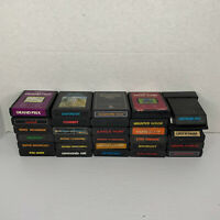 LOT OF (30) ATARI 2600 GAMES! - Crystal Castles, Galaxian, More - TESTED! CLEAN!