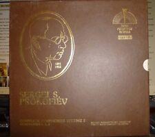 PROKOFIEV Complete Symphonies Vol 2 (4.5.6) 3 LP ROZHDESTVENSKY, Moscow Radio SO