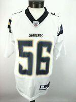 CHARGERS Reebok Jersey Authentic Merriman #56 Football San Diego NFL Men's S