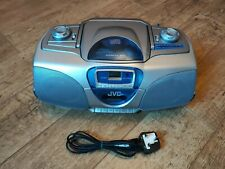 Jvc RC-BX330 CD Portable System Compact Disc Radio Cassette Player