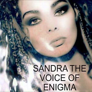 """ENIGMA 2 """"THE CROSS OF CHANGES"""" feat: SANDRA (EXTREMELY RARE 1994 PROMO SHIRT.)"""