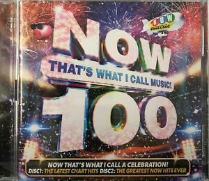 Now That's What I Call Music! 100 - Various Artists [2xCD] New Sealed Free UKP&P
