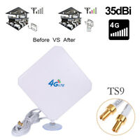 TS9 Antenna 35dBi 4G LTE Antenna Wifi Signal Booster Repeater Amp Omni  V