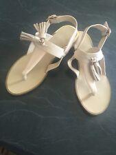 Forever New Beige Size. 38, Tassel Sandals Brand New Rrp $60