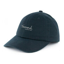 "Diamond Supply Co ""OG Script Sports"" Strapback Hat (Black) Unstructured Cap"