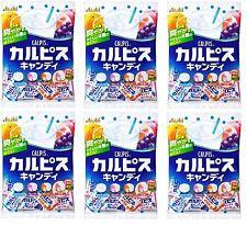 New ASAHI FOOD Calpis Candy 100g x 6 pcs Set Japan