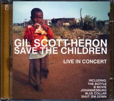 SEALED NEW CD Gil Scott-Heron - Save The Children: Live In Concert