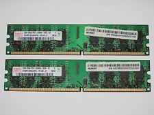 Hynix 4GB (2x 2GB) DDR2 667MHz 5300U RAM Arbeitsspeicher
