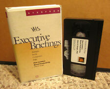 JOHN ZENGER business instruction Executive Briefings VHS productivity boost 2001