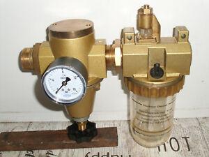 Druckminderer mit Öler   0-16 bar  1 Zoll Gewinde (G1)