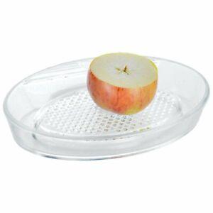 ORION Apfelreibe / Glasreibe für Äpfel / Obstreibe