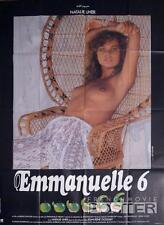 EMMANUELLE 6 - SEXY CULTE / NAKED / X RATED - ORIGINAL LARGE FRENCH MOVIE POSTER