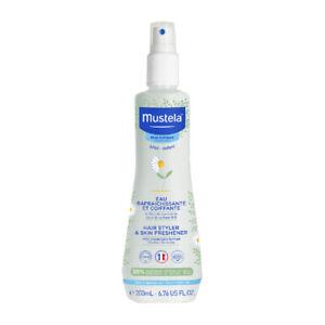 Mustela Hair Styler & Skin Freshener 200mL Refreshes Normal Skin Bebe-Enfant