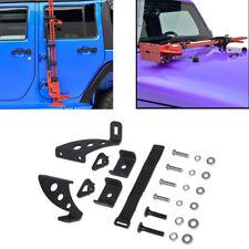 Hi Lift Jack Mount Side Hood Bracket Kit For 2007-2017 Jeep Wrangler JK Off Road