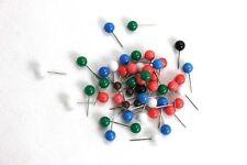 10 grande stabile pinwandnadel ROSSO 17 x 31 mm makiernadeln carte ago Push Pin