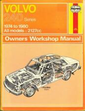 VOLVO 240,244,245,DL,GL,GLT,E,DLE,GLE,SALOON,ESTATE HAYNES MANUAL 1974-1980