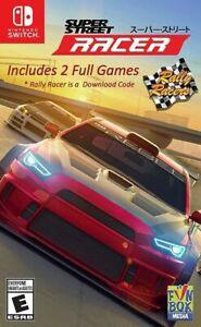 Super Street Racer + Rally Racer Nintendo Switch Brand New Sealed