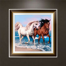 DIY 5D Diamond Embroidery Horse Painting Cross Stitch Art Craft Home Decoration