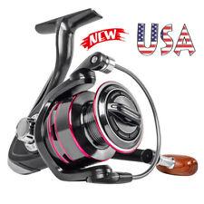 Pro Spinning Fishing Reel 12BB Ball Bearing Saltwater Freshwater Right Left Hand