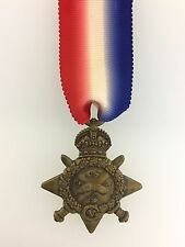 SUPERIOR QUALITY Solid Bronze Britain British 1914 MONS STAR  Medal. Full size.