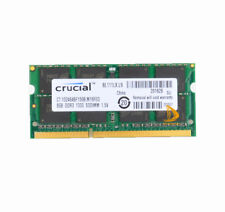 Crucial 8GB DDR3 PC3-10600 1333MHz RAM SODIMM Fr APPLE MacBook Pro iMac Mac mini