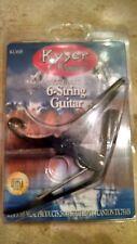 Kyser KG6B 6-string guitar capo, Black