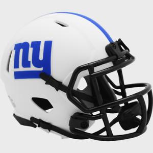 New York Giants Lunar Eclipse Alternate Speed Mini Helmet Replica Riddell