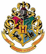 Escudo de Hogwarts de Harry Potter de Pared Oficial Silueta de cartón
