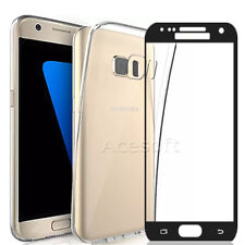 New Protective Screen Protector+TPU Case for T-Mobile Samsung Galaxy S7 SM-G930T