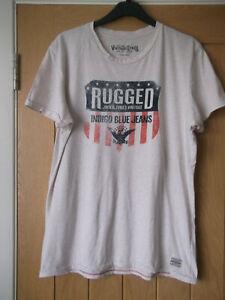 Mens Jack & Jones Vintage Clth Co Stone T.Shirt. Size XL. Good Condition.