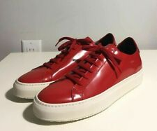 Brand-new Men's Common Projects Red Achilles Premium Sneakers in US 9/Euro 42