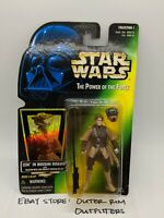 Kenner Star Wars Power of the Force Leia Boushh Disguise Action Figure Sealed