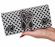 Banned Apparel Godiva Love Chats Coeurs Kitty VINTAGE 50 s Rockabilly Wallet Purse