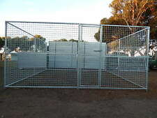 Pet enclosure Dog Kennel Fencing Run Sheep Chook Goat Animal Fence