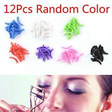 12Pcs Refill Silicone Pads Circle Protector Eye Lashes Curler Replacement Pads