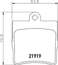 GENUINE 5 YEAR WARRANTY BRAND NEW Mintex Rear Brake Pad Set MDB1926