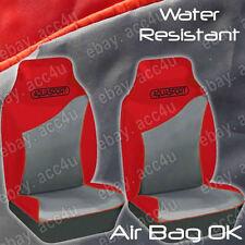 Aquasport EAU résistant Air bag OK GRIS VOITURE ROUGE Van AVANT Housses de siège
