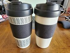 Copco 5237160 Reusable Set of 2 Insulated Double Wall Travel Mugs, 16-ounce