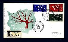 CYPRUS - CIPRO - 1963 - Europa - Albero con 19 foglie (1962) FDC Common Design T